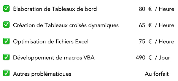 tarifs flexi-office